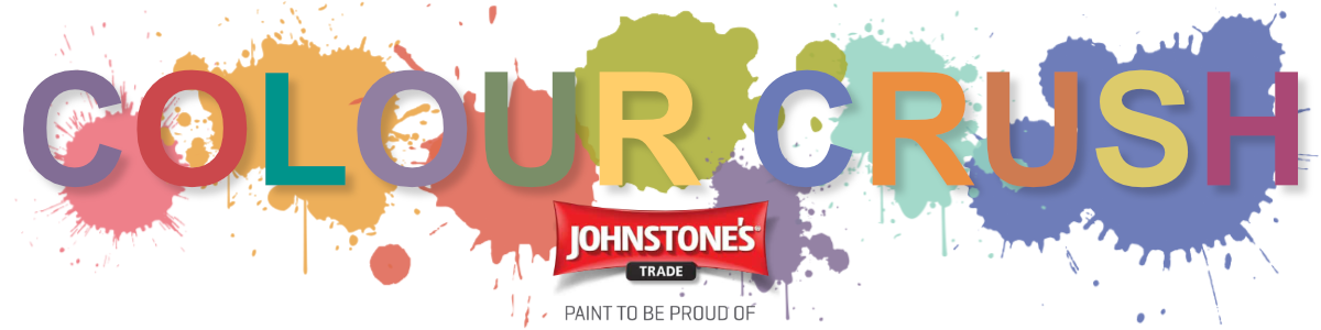 Johnstone's Colour Crush Paints - 32 specially selected vibrant colours
