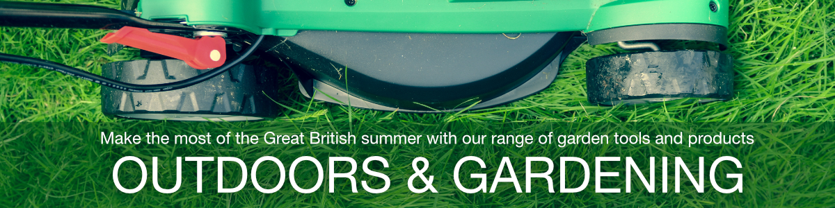 Make the most of the Great British summer with our range of garden tools and products
