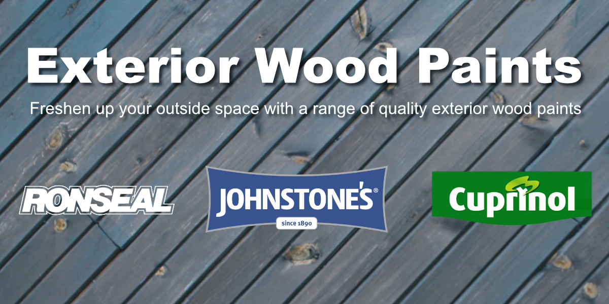 Exterior wood paints from leading brands