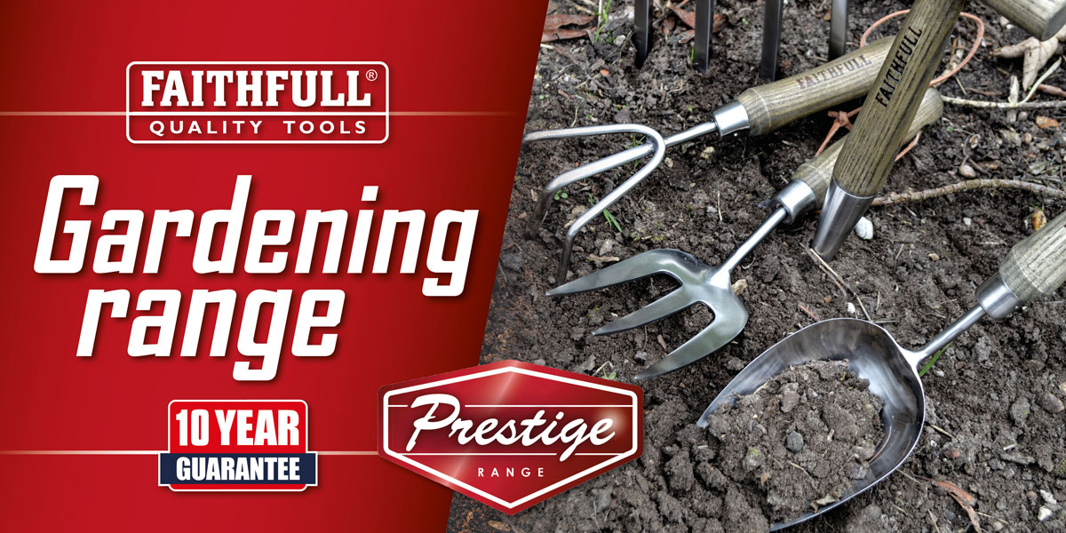 Faithfull Prestige Gardening Tools