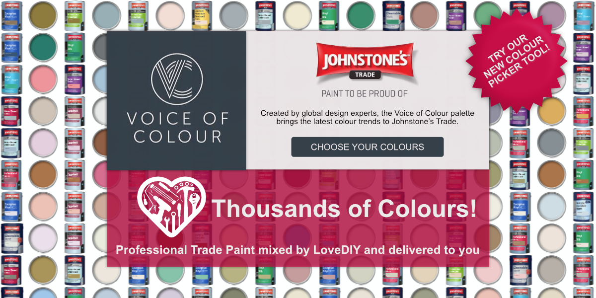 Johnstone's Trade Voice of Colour - Choose from thousands of colours!