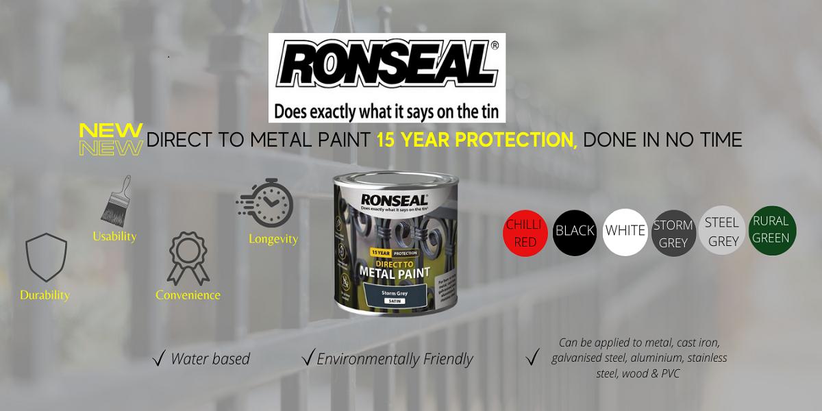 Ronseal Direct to Metal